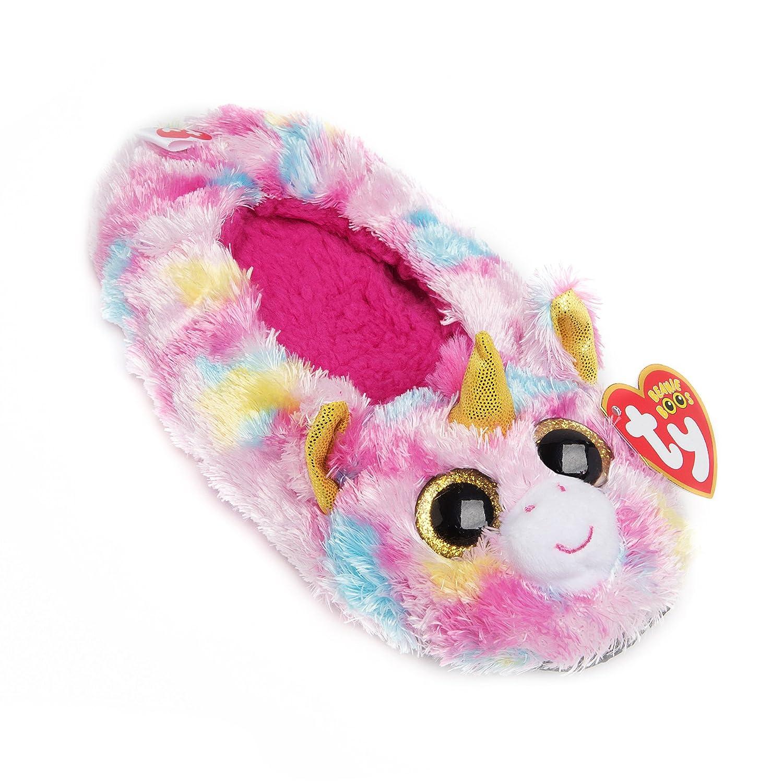 TY Beanie Boos Kids Girls Plush Animal Toy Non Skid Slipper Socks
