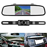 Amazon Price History for:LeeKooLuu Reverse/Rear View Camera and Mirror Monitor Kit Only wire Single Power Rear view/Full time view Optional for Car Truck With 7 LED Night Vision WaterProof Grid Lines