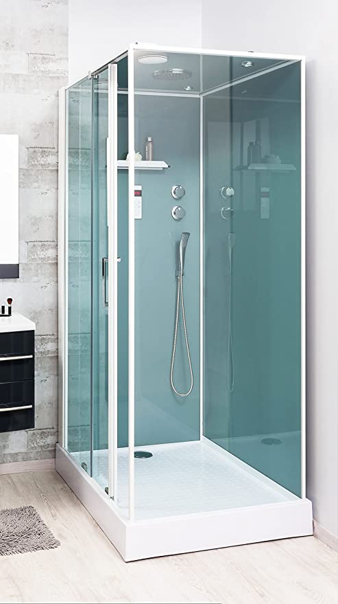 Aqua Plus sachcabadeld Adely 90/120 Hydro Shower Cubicle No Right ...