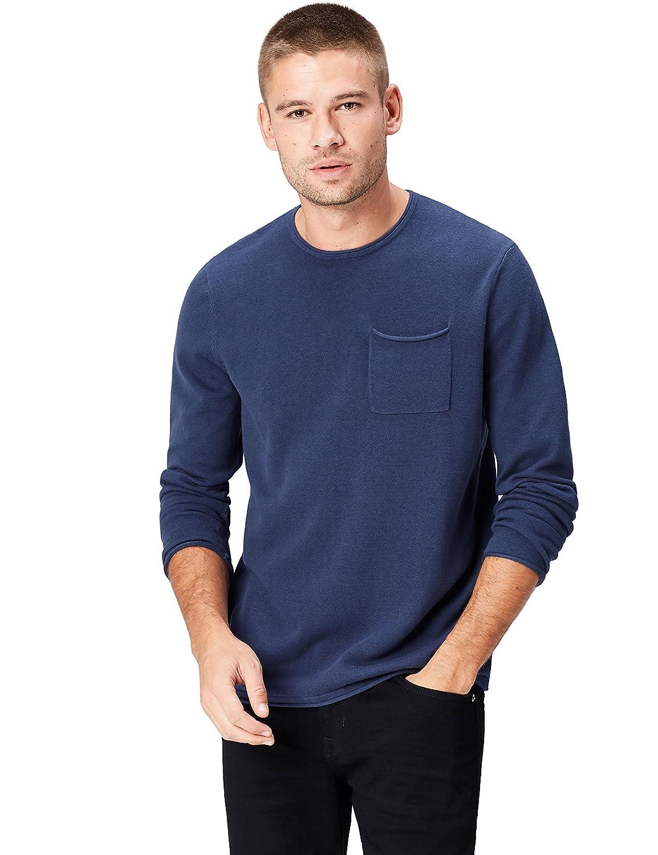 TALLA 50 (Talla del Fabricante: Medium). Marca Amazon - find. Jersey con Bolsillo para Hombre