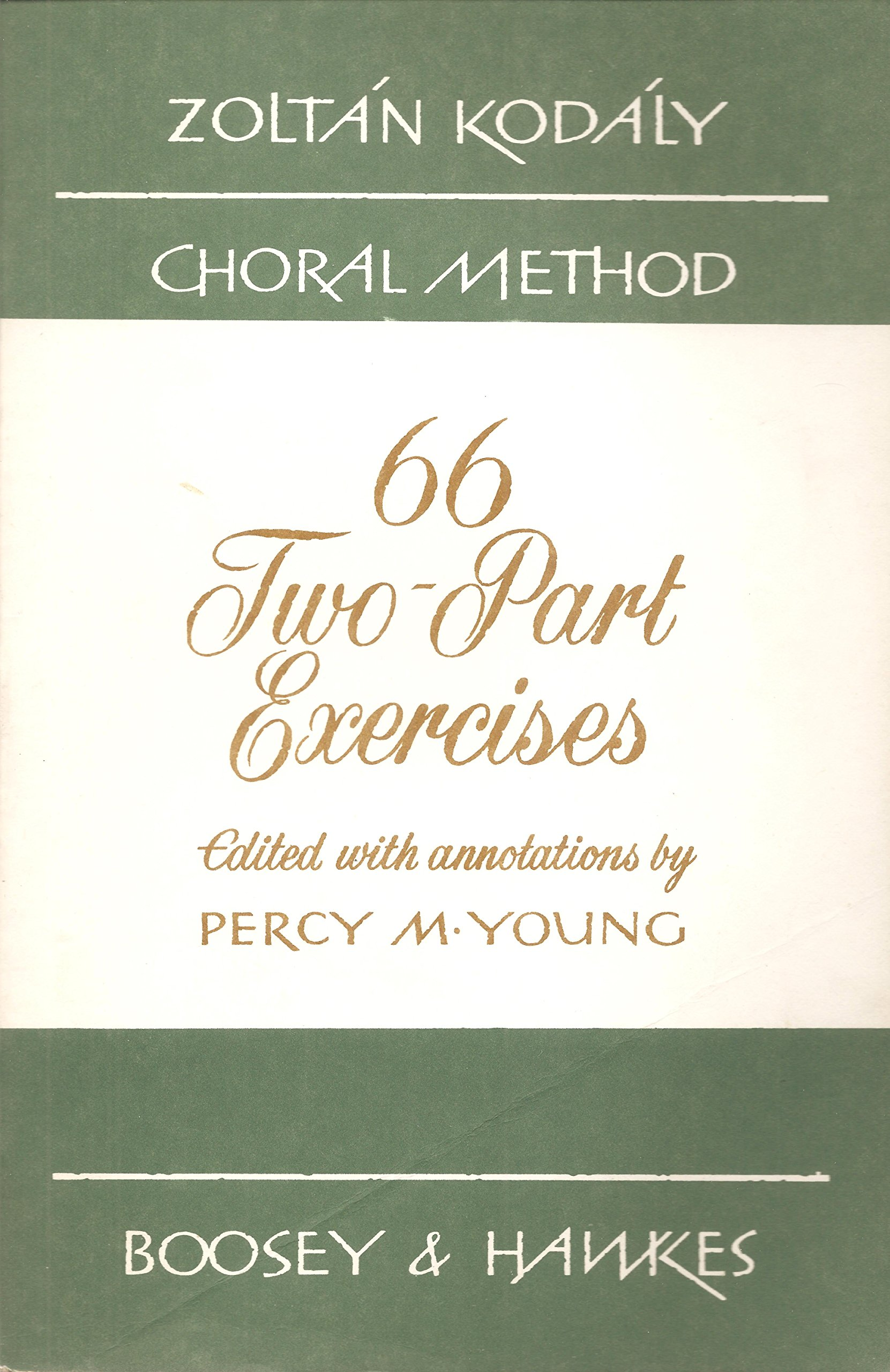 66 Two Part Exercises Edited With Annotations By Percy M Young