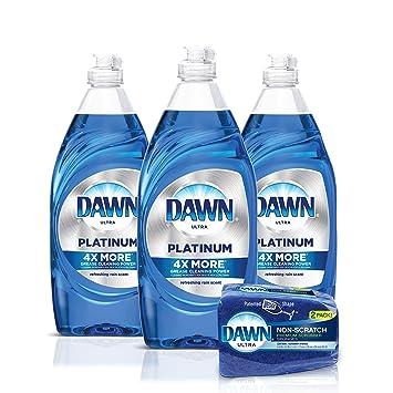 Amazon.com: Dawn Platinum - Jabón líquido para lavavajillas ...