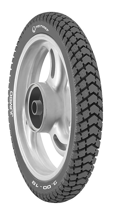 TVS Tyres Jumbo 3.00-18 52P Tube-Type Bike Tyre