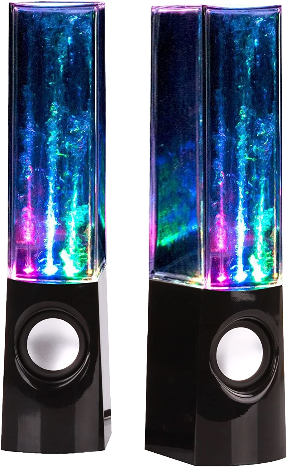 Bolan Plug /& Play Multi-Color Illuminated Dancing Water Speaker Light Show Water