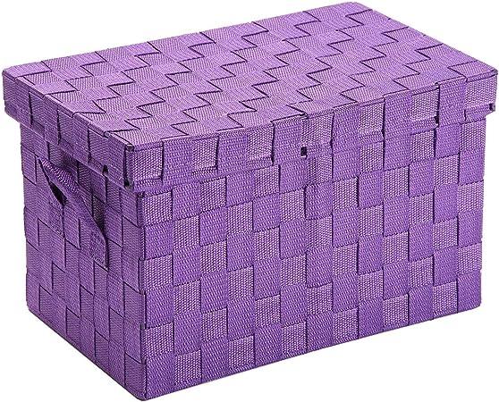 Versa Caja Violeta con Tapa NALI P, Multicolor, No Aplica: Amazon.es: Hogar