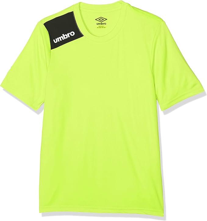 4 a/ños UMBRO Oblivion Jnr Camiseta de f/útbol ni/ño Amarillo