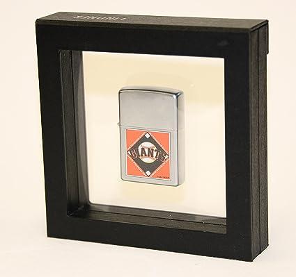 Amazon.com: 1 Single encendedor Zippo Display Case Box Frame ...