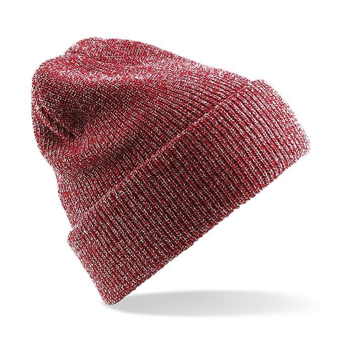 Beechfield Original Cuffed Double Knit Acrylic Hat Beanie Cap One Size Beany