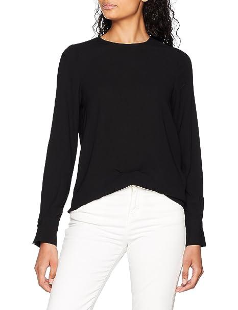 Vero Moda Vmgabby L/S Top Solid Noos, Blusa para Mujer: Amazon.es: Ropa y accesorios
