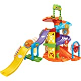VTech Go! Go! Smart Wheels Spinning Spiral Tower Playset (Frustration Free Packaging)