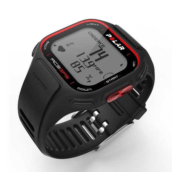 Polar RC3 GPS Bike con pulsómetro, color negro: Amazon.es: Deportes ...