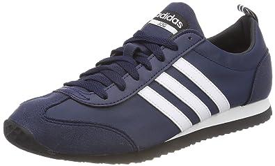newest b56da 08648 adidas Vs Jog, Sneakers Basses Homme, Bleu (Collegiate Navy Footwear White