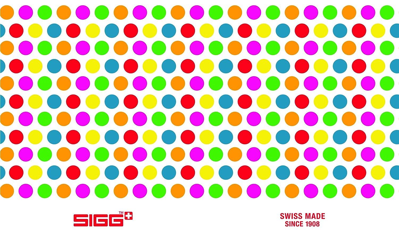 Multicolor Sigg 8547.3Dots drinking bottle 20 oz