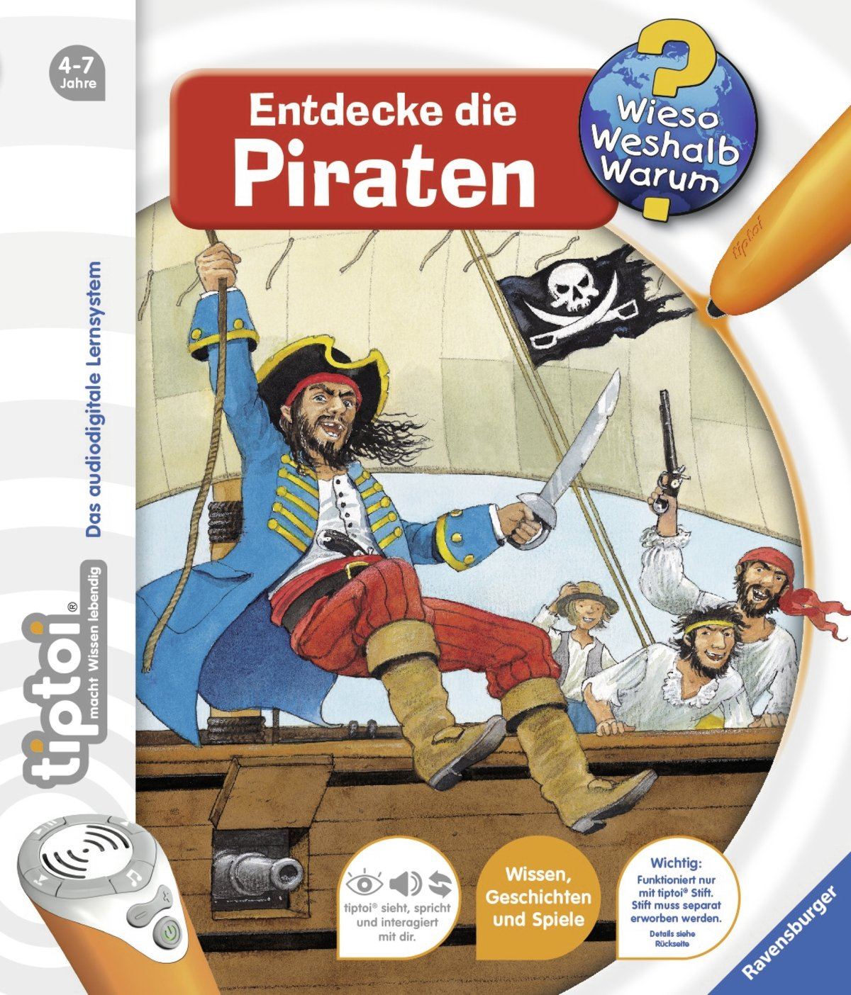 tiptoi piraten