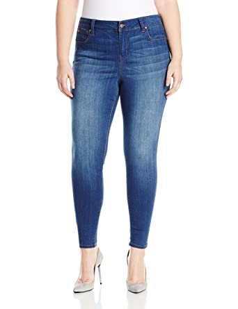 6c7ef873 Celebrity Pink Jeans Women's Plus Size Infinite Stretch Mid Rise Skinny  Jeans, Kings of Leon