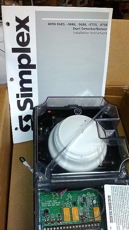 Simplex 4098 9686 True Alarm Duct Smoke Detector Housing