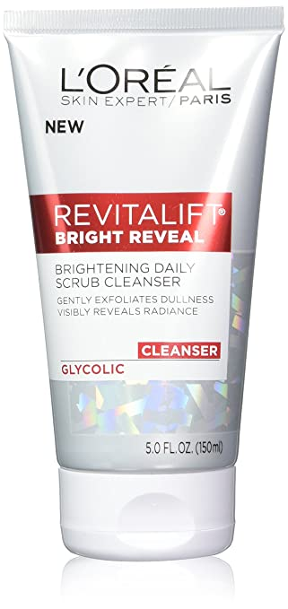 L'Oreal Paris Skin Care Revitalift Bright Reveal Cleanser, 3 Count
