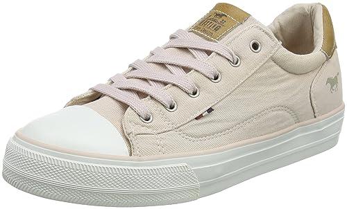 Mustang 1272-301-555, Zapatillas Para Mujer, Rojo (Rose), 42 EU: Amazon.es: Zapatos y complementos