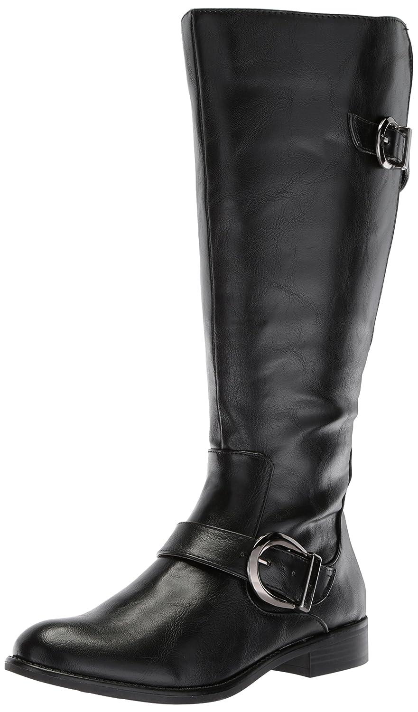LifeStride Women's Rosaria-Wc Equestrian Boot B075G6KLVS 7 W US|Black Wc