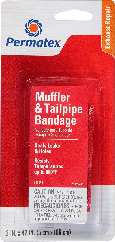 Permatex 80331 Muffler and Tailpipe Bandage, 84 sq. in., Single Unit: Automotive