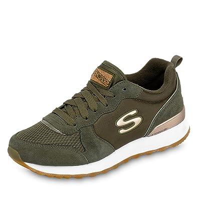 meet 4d5f3 cda4c Skechers Damen Retros-og 85-goldn Gurl Sneaker