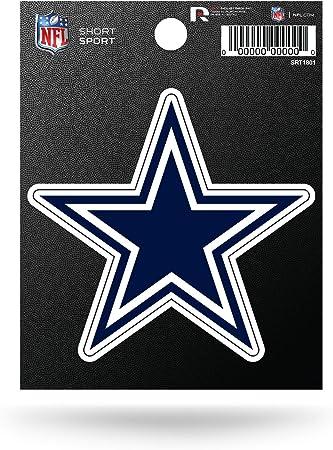 Nfl Rico Industries Die Cut Team Logo Short Sport Sticker Dallas Cowboys Sport Freizeit