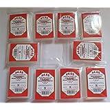 docsmagic.de 500 Premium Mini European Board Game Sleeves - 47 x 70 - Small EU - 44 x 68 - 10 Packs