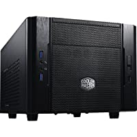 Cooler Master Elite 130 mini-ITX (mITX) Computer Case (Black)