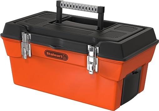 Stalwart utilidad caja con 7 compartimentos y bandeja: Amazon.es ...