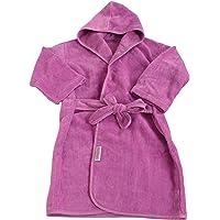 SILLY BILLYZ Organics Mini Bath Robe, Plum