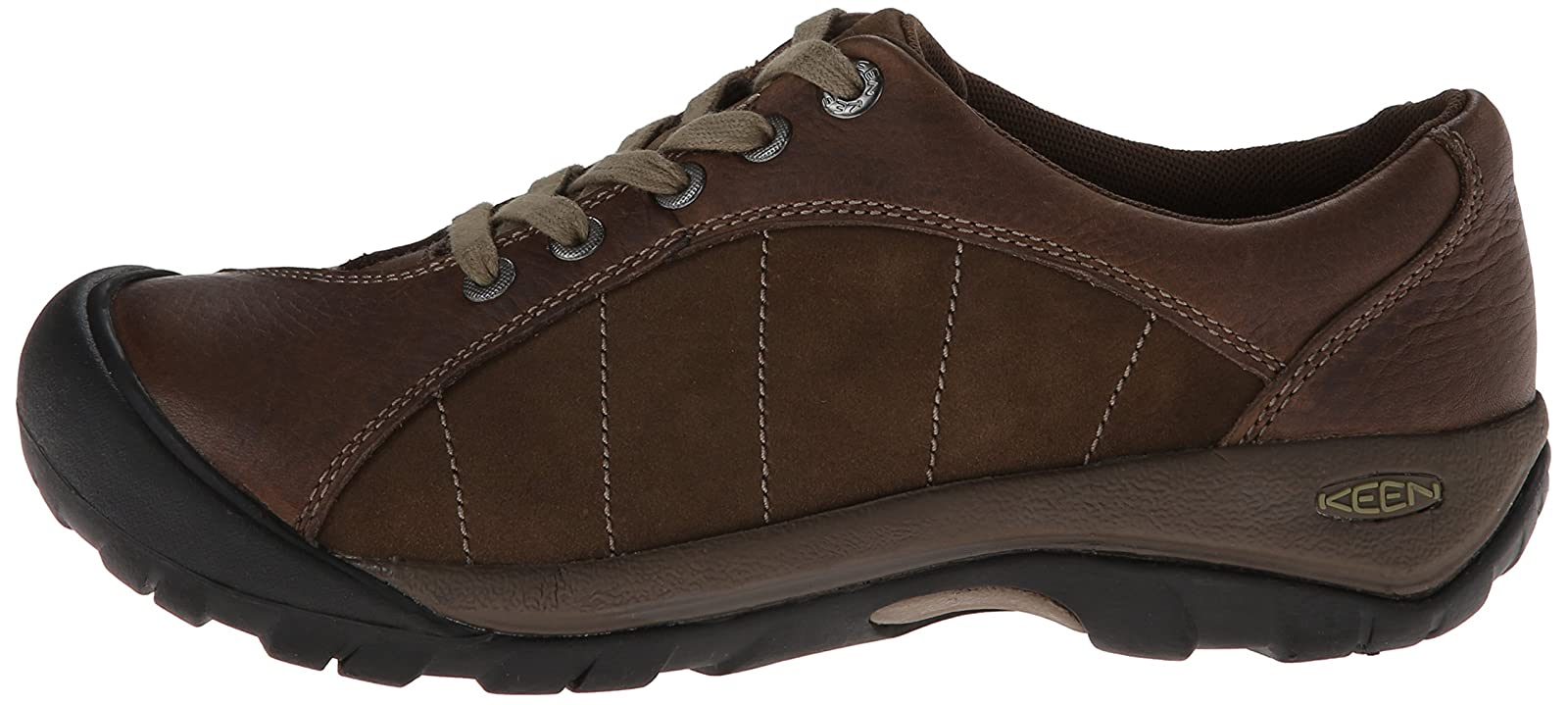 KEEN Women's Presidio Shoe Cascade Brown/Shitake 9.5 M US Women - 5
