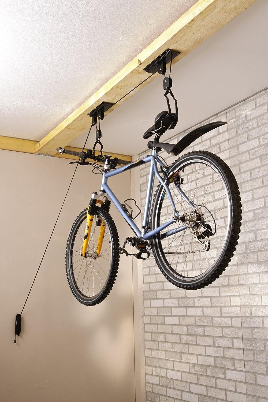 Mottez - Elevador de Bicicletas, Color Negro: Amazon.es: Deportes ...