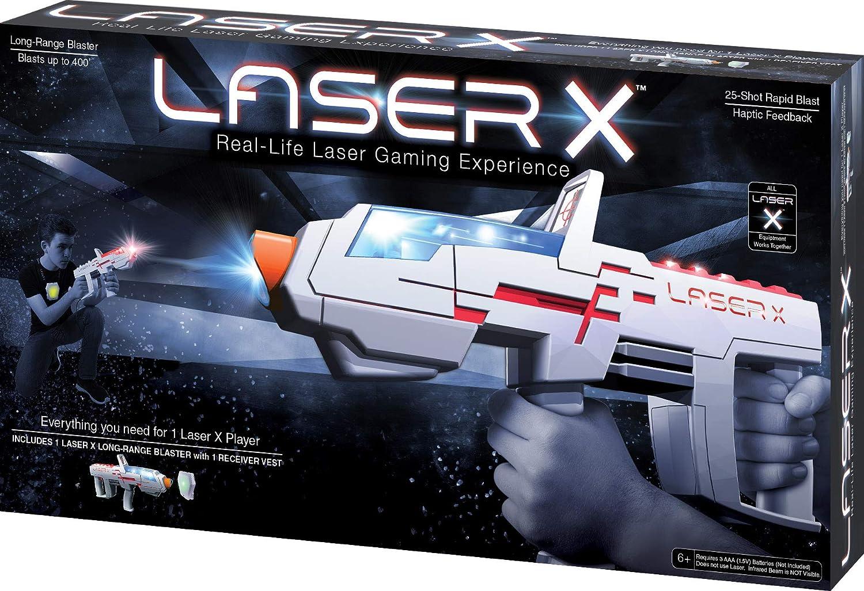 Laser X 88031 Juego de Pistola de Largo Alcance