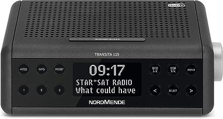 Nordmende Transita 115 Dab Radiowecker Dab Ukw Snooze Funktion Wecker Sleeptimer Anthrazit Heimkino Tv Video