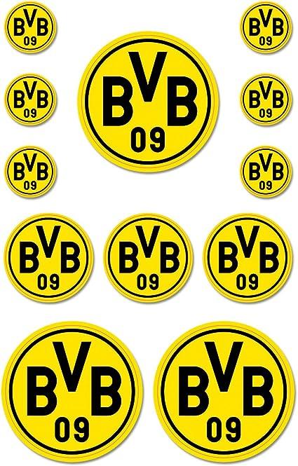 Borussia Dortmund BVB 09 BVB-Autowimpel SCHWARZ//GELB