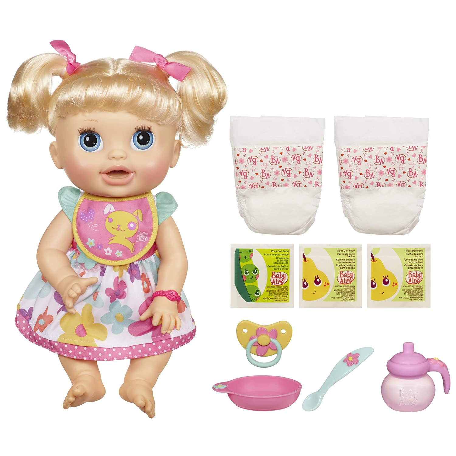 Baby Alive Real Surprises Baby Doll (Discontinued by manufacturer):  Amazon.ca: Toys & Games
