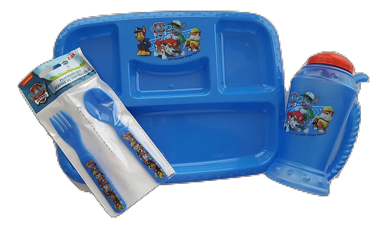 独特の上品 Paw Patrol BPAフリーランチトレイ、Flatware Paw、、プラスチックMug by Designsセット Zak Designsセット Patrol B074MPVR6D, ソウサグン:542f29d0 --- beyonddefeat.com
