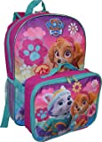 "Nickelodeon Paw Patrol Boys'/ Girls' 16"" Backpack W/ Detachable Lunch Box"