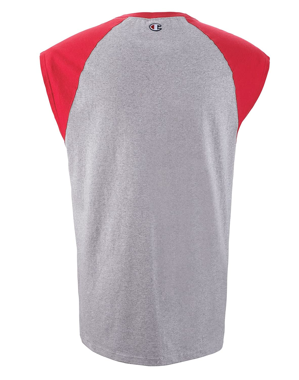 Champion Men Cotton Cap Sleeve Tee
