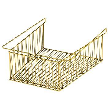 Ikea kallax Cesto de rejilla para colgar bronce 40x33 cm: Amazon.es: Hogar