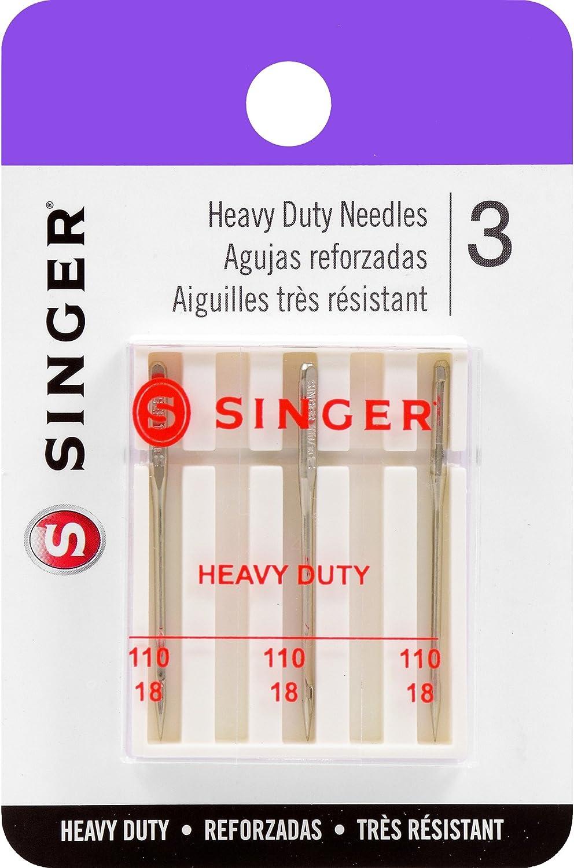 Singer Notions Universal Regular Point Machine Needles-Size 18/110 3/Pkg