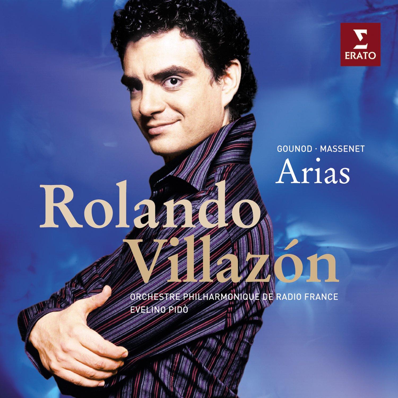 Massenet/Gounod: Arias ~ Rolando Villazon by Erato Disques (Image #1)