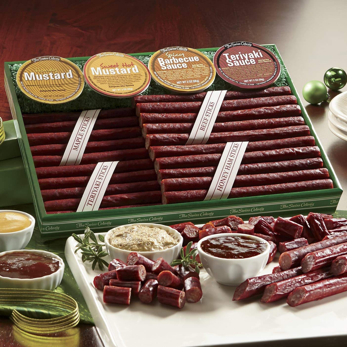 Meat Stick Bonanza, Gift of 12 from The Swiss Colony