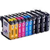 Kingway lc223 Ink Cartridges for Brother mfc-j5625dw dcp-j4120dw mfc-j5320dw mfc-j4625dw dcp-j562dw mfc-j4620dw mfc-j5720dw mfc-j480dw mfc-j5620dw mfc-j4420dw mfc-j680dw mfc-j880dw