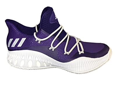 brand new 39253 43eae adidas Crazy Explosive Low Shoe - Men s Basketball Purple White Core Black
