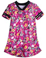 Disney Girls Minnie Mouse Nightshirt Pink