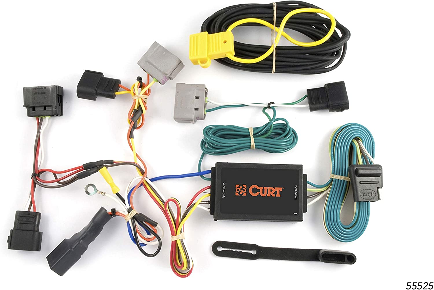 Amazon.com: CURT 55525 Vehicle-Side Custom 4-Pin Trailer Wiring Harness for  Select Ford Windstar: AutomotiveAmazon.com