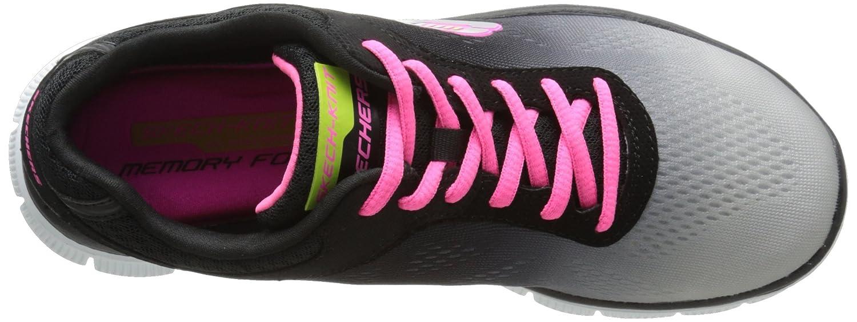 Skechers Flex Appeal Style Icon Damen Damen Damen Sneakers Schwarz (Bklg) ba1043