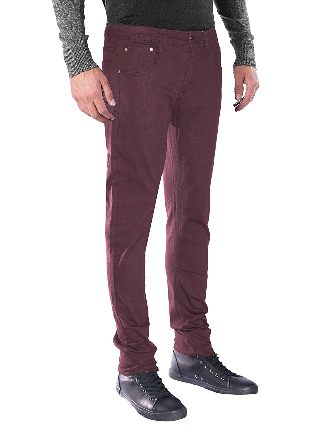 1f672d6f841b SOFT & COMFORTABLE: Made with twill cotton blend fabric, our mens twill  pants are made to provide you with unmatched comfort throughout the day.
