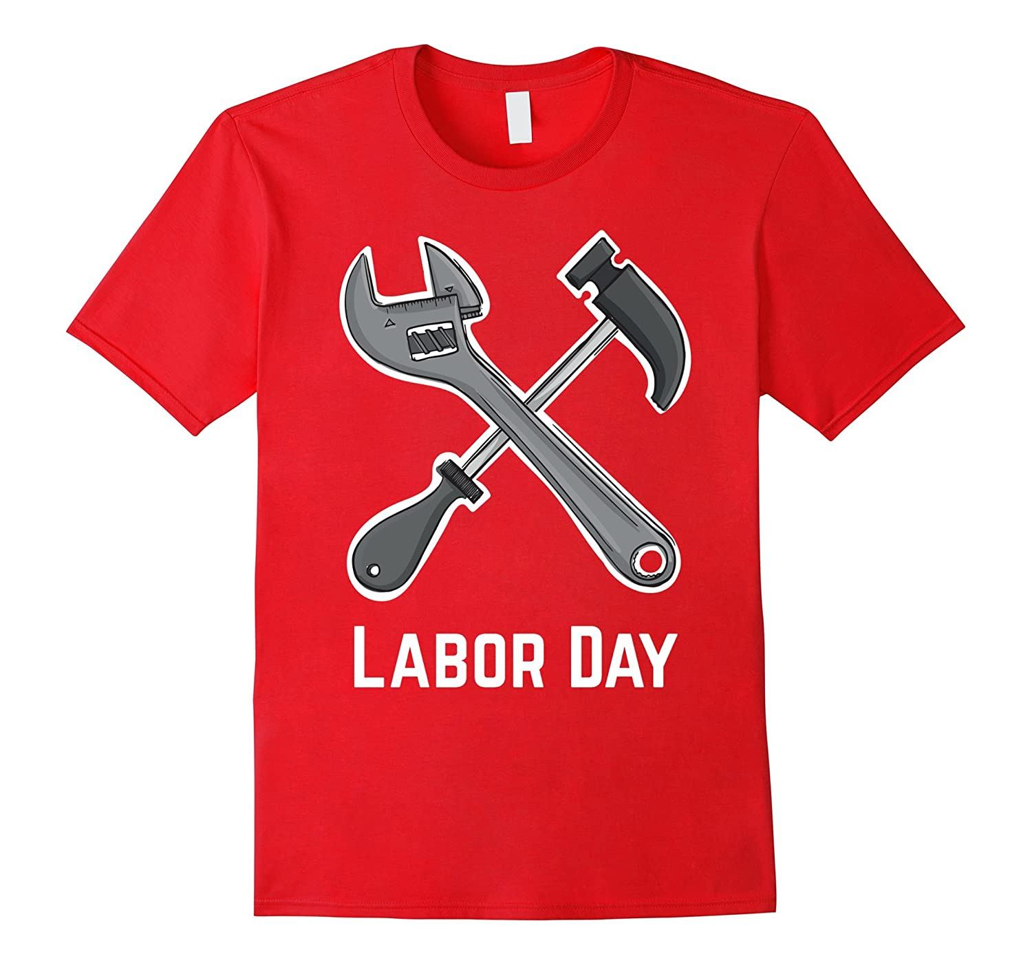 Labor Day with Hammer T-Shirt-BN